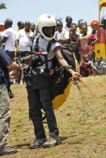 Paragliding Festival Gets First Ghanaian Pilot