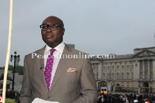 Komla Dumor Runs Royal Wedding on BBC