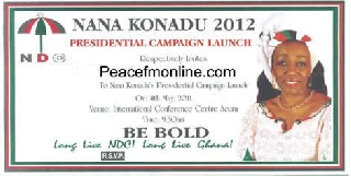 Full Throttle Ahead: Nana Konadu Launches Flagbearer Campaign