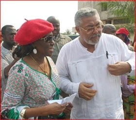 Rawlings: Konadu faces