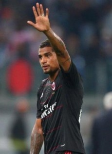 Kevin-Prince Boateng Unsure Over His Future With AC Milan