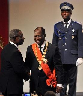 Report : Mills Masterminded Ouattara Investiture