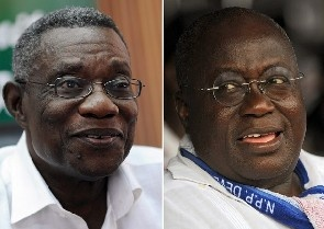 Latest Synovate poll: Akufo-Addo still leads Mills