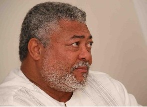 Rawlings Chased Out Of Kotoka Airport!