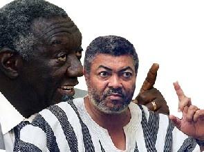 Kufuor Stole State Cash - Rawlings