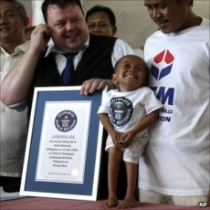 World's Shortest Man Crowned