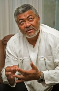 Rawlings holds talks with Sudan Al Bashir on Somalia