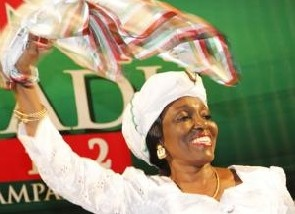 Nana Konadu whips up support in the North